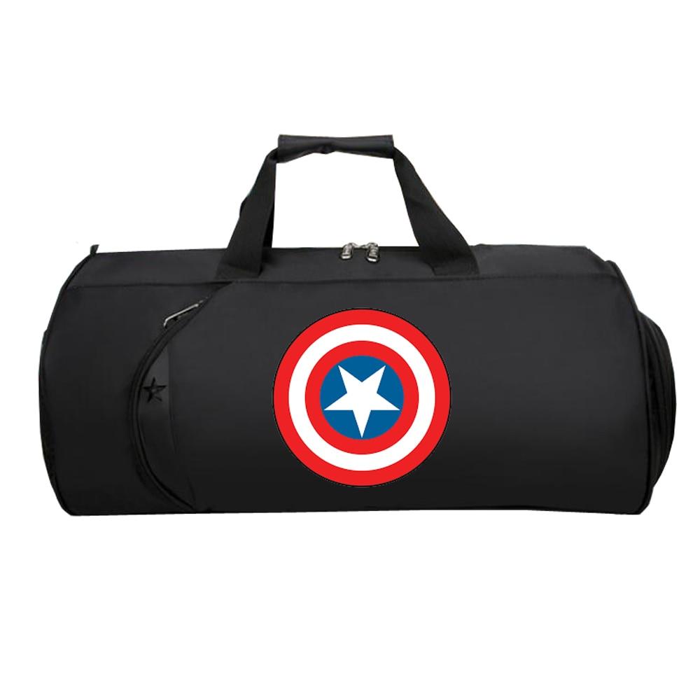 Men Travel luggage bag Luggage Suitcase Large Multifunction Shoulder Tote Bag Travel Handbag for Comics Super Hero Fans
