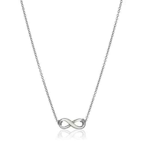 Gold Color Infinite Love Necklace For Women Minimalist Pendant Chain Friendship Choker Necklaces 2019 New year Gift mothers day