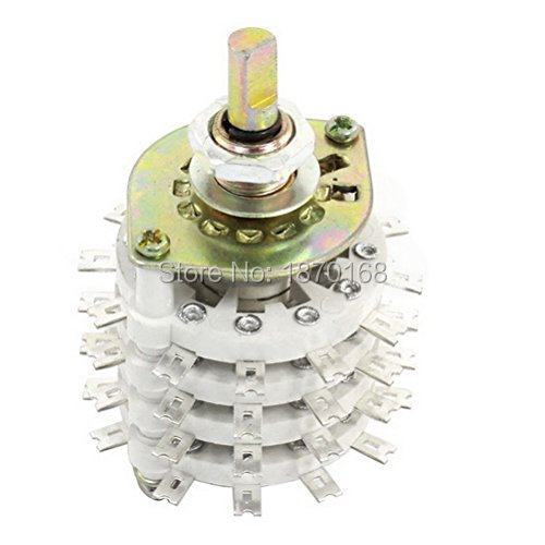 все цены на KCT 4P11T 4 Pole 11 Throw Ceramic Band Channel Rotary Switch Selector