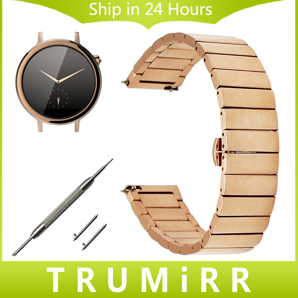16mm Stainless Steel Watch Band Quick Release for Moto 360 2 42mm Women Huawei Talkband B3 Butterfly Buckle Strap Wrist Bracelet compatible new rl1 0540 000 rl1 0540 tray 2 paper pickup roller for hp 1160 1320 3390 3392 2727 2014 2015 lbp3300 3310 3360 3370