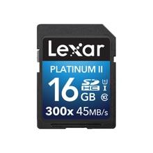 Get more info on the Original!!! Lexar 16GB 32GB SD SDHC Card U145MB/s Class 10 300X SD Memory Card PLATINUM II For 3D 4K video Camera