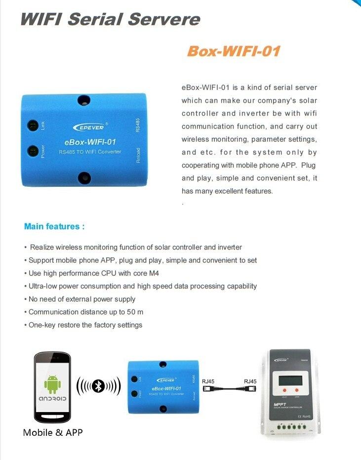 30eLOG01 PC soft RS485 record time EPsolar solar controller LS-B VS-BN Tracer-AN