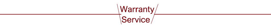 warranty service