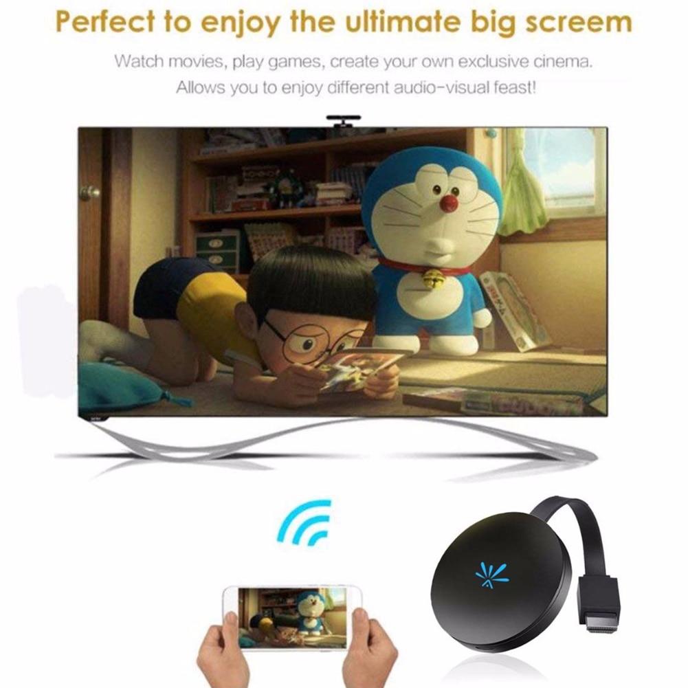Unterhaltungselektronik Airplay 2,4g Display Dongle Für Telefon Heimkino Video Mini Media Streamer Tv Stick Für G6 Digital Adapter Wireless Wifi Hd äSthetisches Aussehen