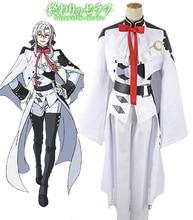 Free Shipping Seraph of the End Ferid Bathory Vampires Uniform Cosplay Costume