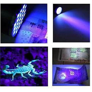 Image 5 - Mini 9LED UV Flashlight Ultraviolet led flashlight Ultra Violet Invisible Ink Marker Detection Torch Light 3AAA UV lamp