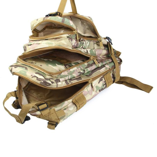 fa968c372 2017 Men Tactical Backpack Women Outdoor Military Army Trekking Sport  Travel Rucksacks Camping Hiking Trekking Camouflage Bag