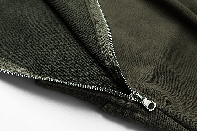Cross Printed Hip Hop Sweatshirt Men 17Spring Streetwear Curved Hem Side Zipper Plain Mens Sweatshirts and Hoodies Man Clothes 32
