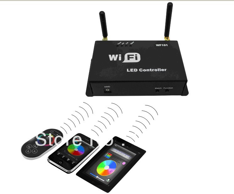 все цены на  WF101,LED WiFi controller,Single Point Controller-constant current;350ma or 700ma*3channel output  онлайн