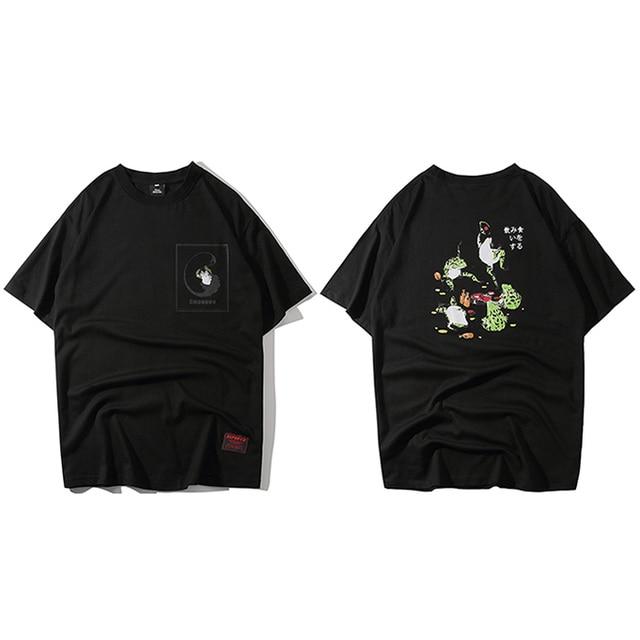 Men Hip Hop T Shirt Funny...
