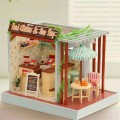 Cutroom 3D Miniature Dollhouse Beer Shop Model DIY Toy Wooden Miniatura Handmade Room Box Furniture Kit Birthday Valentine Gifts