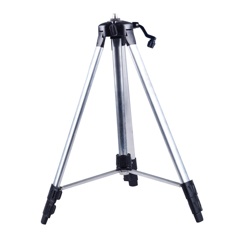 Multi- function Laser Level Meter Tripod Aluminum Elevator Professional Rotary Adjustable Tool Hand Tool Parts aluminum tripod grade rod inches combo for laser level auto level transit a4