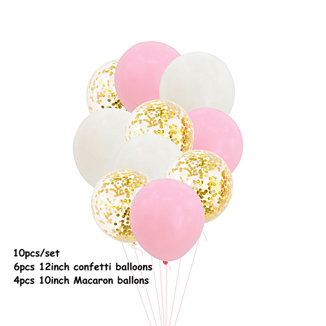 12 39 10pcs Confetti Ballon Bride to Be Romatic Wedding Birthday Party Decoration kids adult Happy Birthday Balls Baby Shower Girl in Ballons amp Accessories from Home amp Garden
