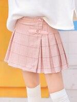 Платье принцессы, Милая юбка для девочек подростков оригинальный Весна японский Симпатичный мягкий сестра коллаж ветер подходит к любой од
