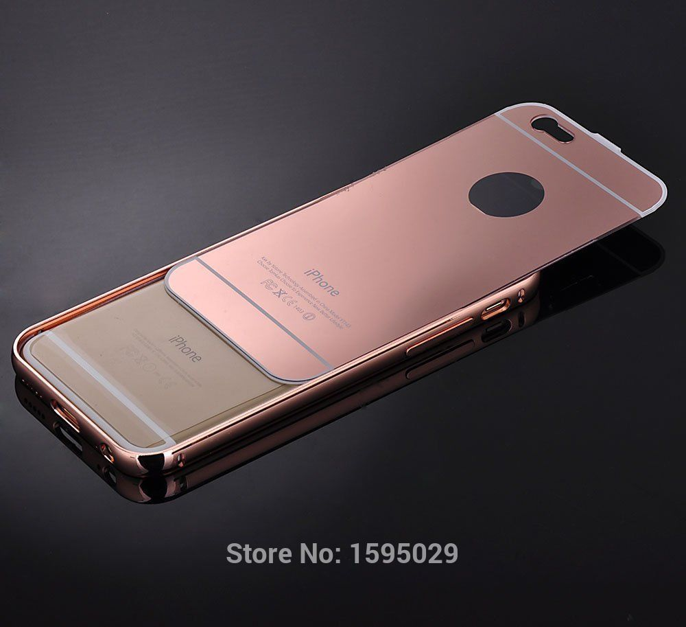 pretty nice 11b3e d0de1 US $6.48 |NEW Luxury Ultra thin Aluminum Case For iPhone 5 G S 5S Mirror  Metal Cover For iphone 5 G S 5G 5S Hard Back Cover Capa Fandas on ...
