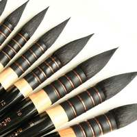 1piece Chinese Calligraphy Brush Squirrel S Hair Artist Watercolor Paint Brush French Style Pointed Painting Brushes