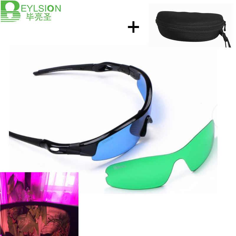 BEYLSION 1/4 1/8 дюйма регулируемый нейлоновый веревочные вешалки светильник светодиодный парник Стекло es защиты глаз Стекло для светодиодный светать растет палатка