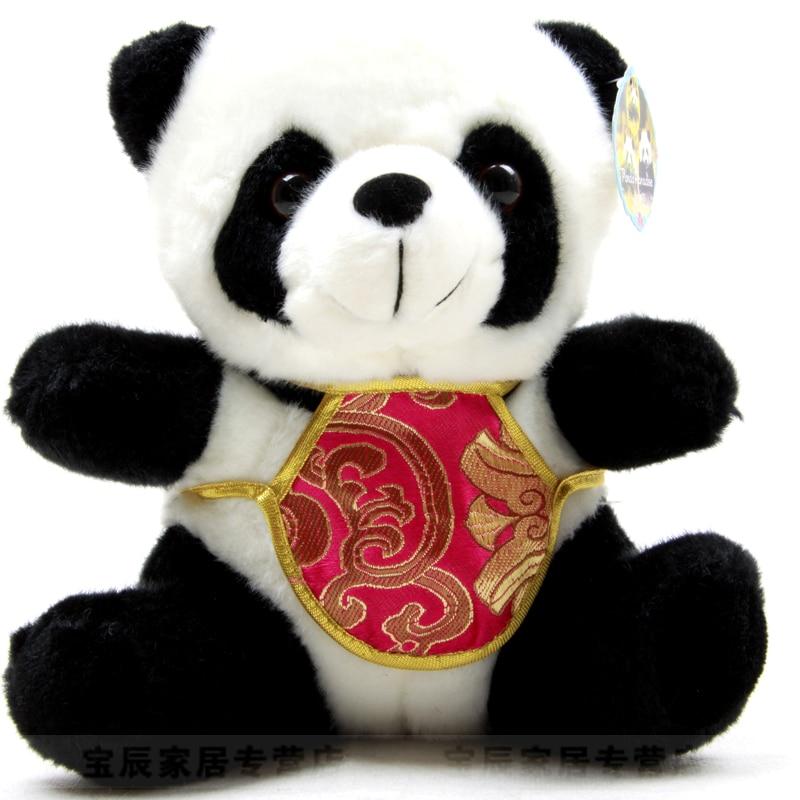 Giant panda plush toy tang suit doll baby birthday gift