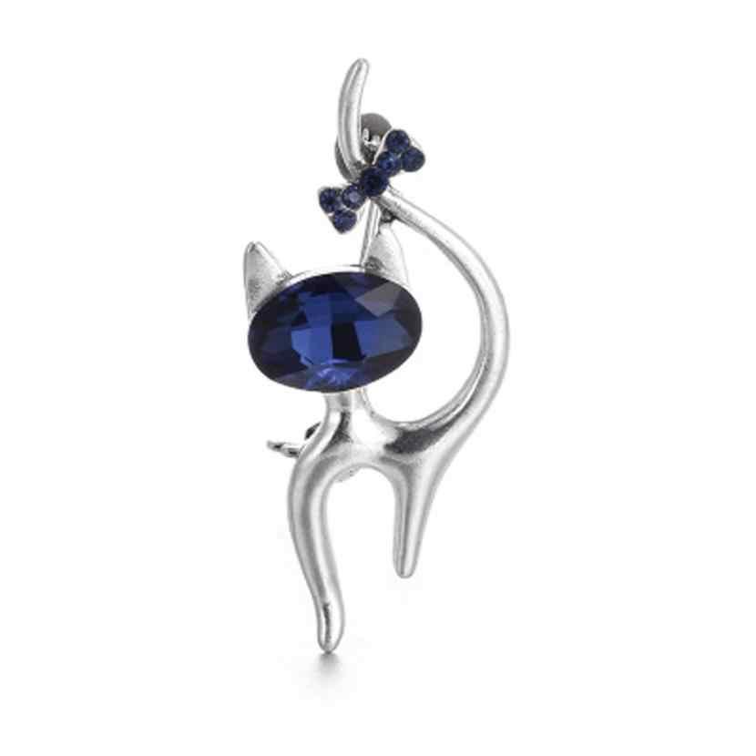 GEMIXI Sevimli Küçük Kedi Broş Pin Up Takı Kadınlar Için Şapka Klipleri Korseler Broş 4.26