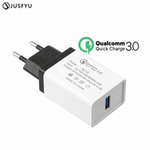 Quick Charge 3.0 Fast USB Charger QC3.0 QC2.0 18W Portable Wall Adapter For xiaomi redmi 4X note 5 plus note5a 4a 5A