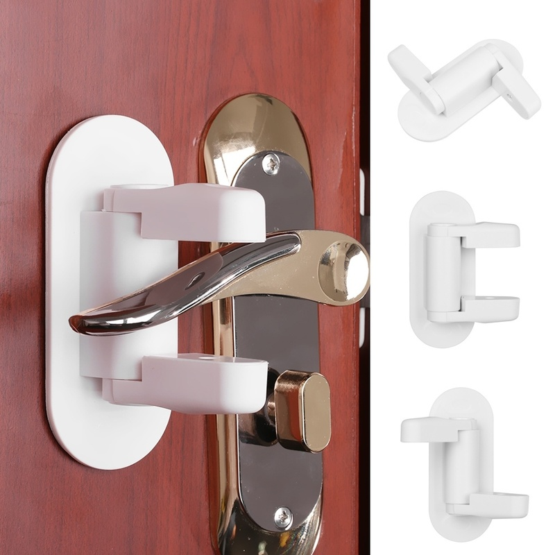 2 Lever Brass Cupboard-Cabinet Drawer Lock with 1 key  50mm 1309