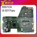 Para asus motherboard x551ca con i3-3217cpu 4 gb 4000hd 100% probó el envío libre
