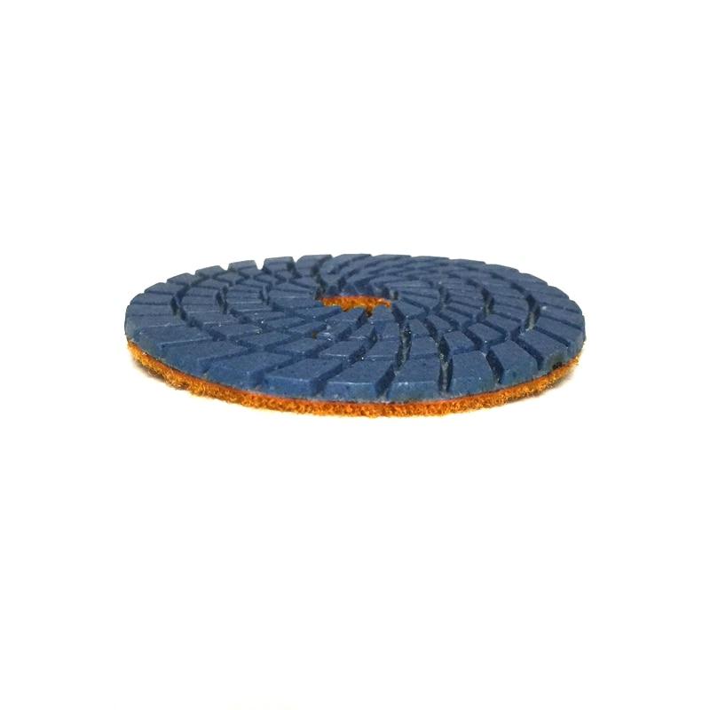 RIJILEI 10 db / tétel 3 hüvelykes rugalmas gyémánt polírozó - Elektromos kéziszerszámok - Fénykép 3