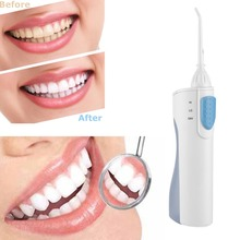 hot deal buy new portable electric oral irrigator oral hygiene dental flosser teeth cleaner cordless dental oral irrigator clean tools