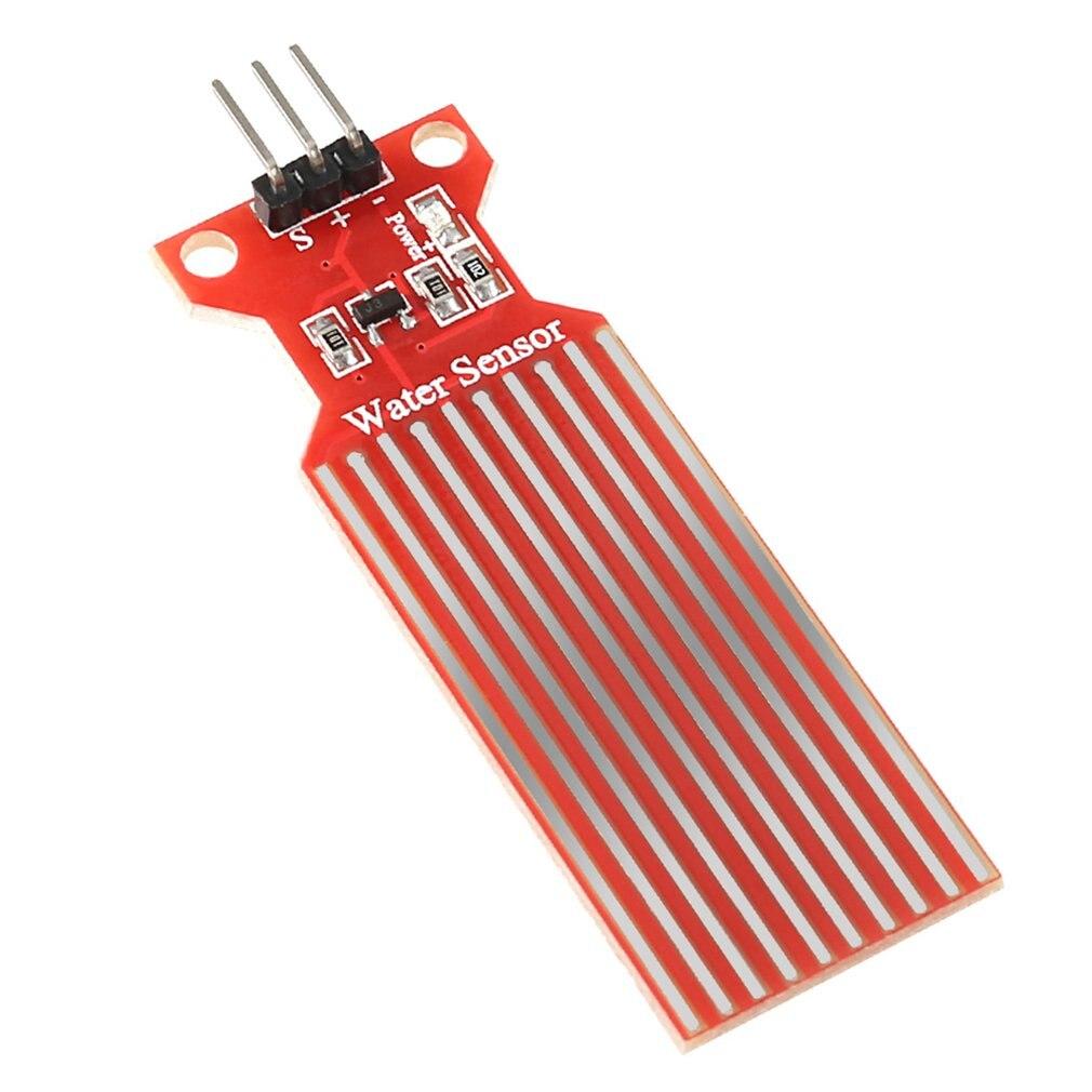 Water Level Sensor Droplet Sensor Water Depth Detection Module Water Sensor For Uno Water Depth Detection Module
