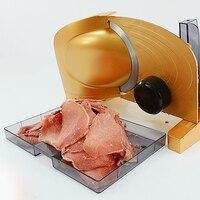 Нержавеющаясталь Электрический срез отрезая коммерческих Мясник для говядины Овощной Фрукты хлеб Кухня помощи
