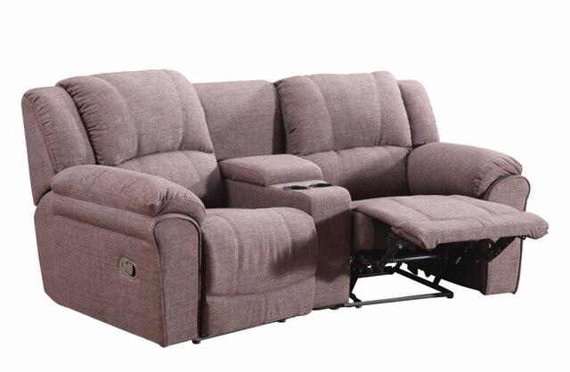 Woonkamer moderne sofa set fauteuil sofa met stof voor home movie ...
