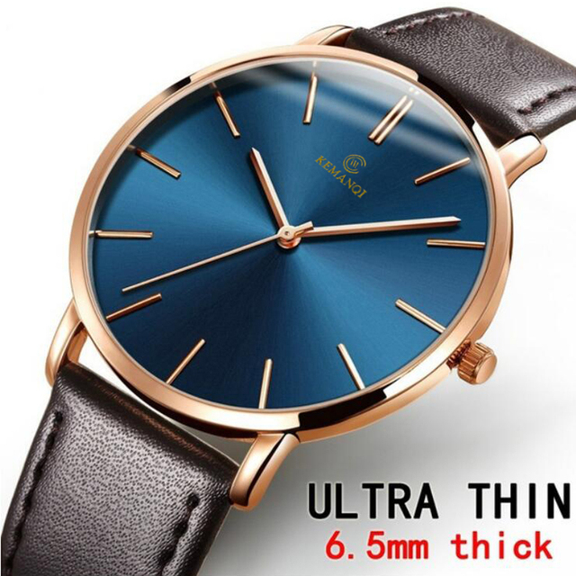 Relogio Masculino Mens Watches Top Brand Luxury Ultra-thin Wrist Watch Men Watch Men's Watch Clock erkek kol saati reloj hombre 4