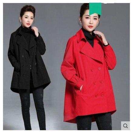red Quilted black Veste Manteau 2018 Red Femme Vintage Nouveau De Femelle Femmes Hiver Rouge Occasionnel Matelassé Quilted Vêtements Lâche black Haut Automne U4wHAUR