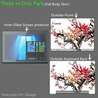Full Body Skin For miix320 10.1 Glass Screen Protector DIY Design Full Body Cover Skin For Lenovo Miix320 Tablet Protective Film