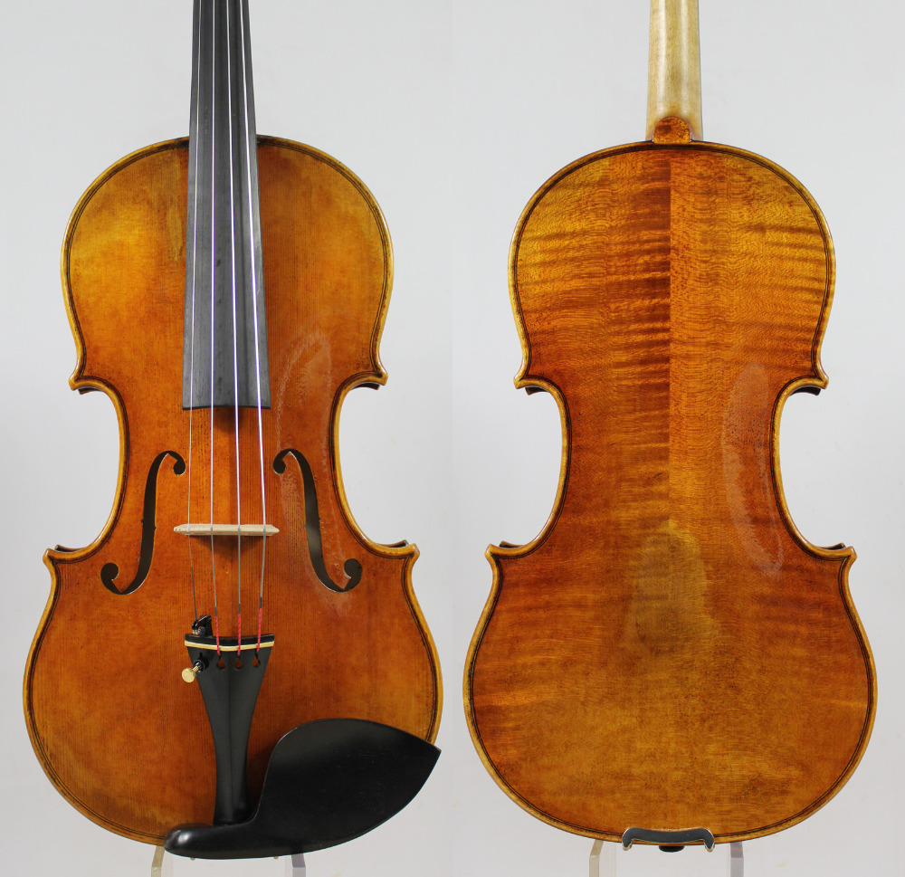 "Stradivarius Kruse zurdo 1721 Violin violino ""All European Wood"" Mejor tono"