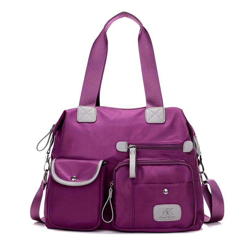 2019 nieuwe hoogwaardige handtassen casual tas vrouwen schoudertas waterdichte nylon messenger bags grote capaciteit bakken bolsa