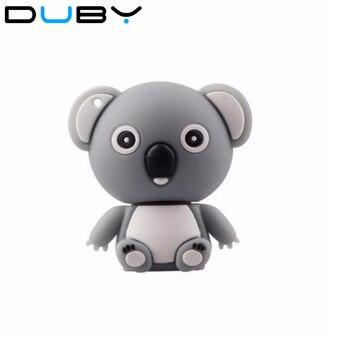 Nuevo Producto, pequeño y exquisito disco U, bonito koala bear pendrive, pequeño modelo de dibujos animados, unidad flash usb de 2 GB/4 GB/8 GB/16 GB USB