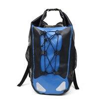 30L Full Waterproof Backpack Portable Outdoor Dry Walking Storage Camping Waterproof Bag Shoulder Strap Swimming Waterproof Bag