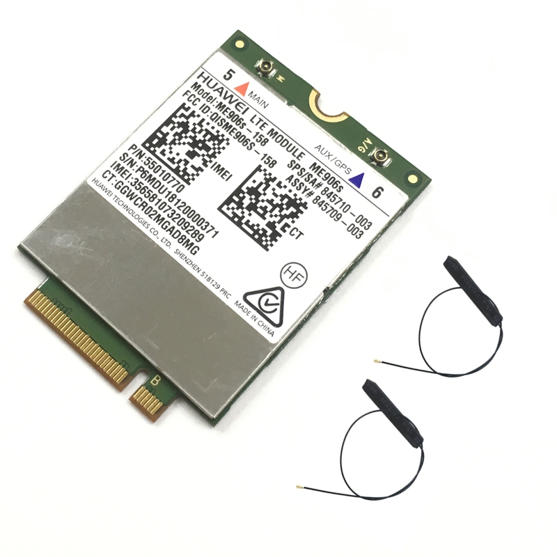 Card 4g-Module Mobile-Broadband LT4132 ME906S-158 LTE for HP Huawei 845710-001 HSPA title=