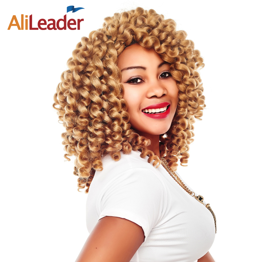Alileader Synthetic Hair Extensions Jamaican Bounce Hair