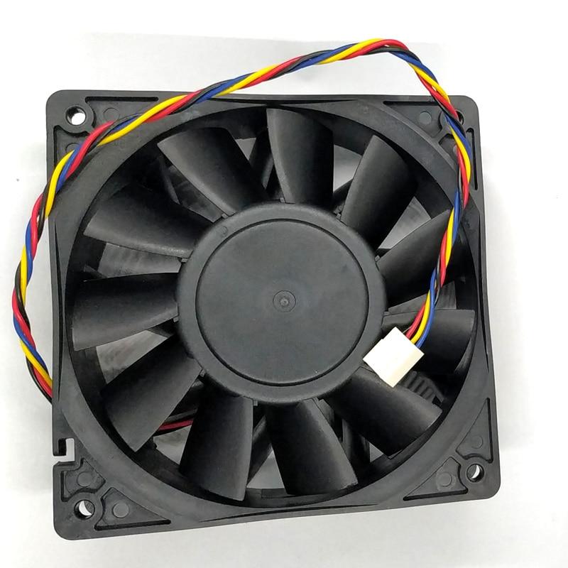 The new 12038 12V 4.8A Delta PFC1212DE 12CM 120 120 38MM large volume dual ball fan violence