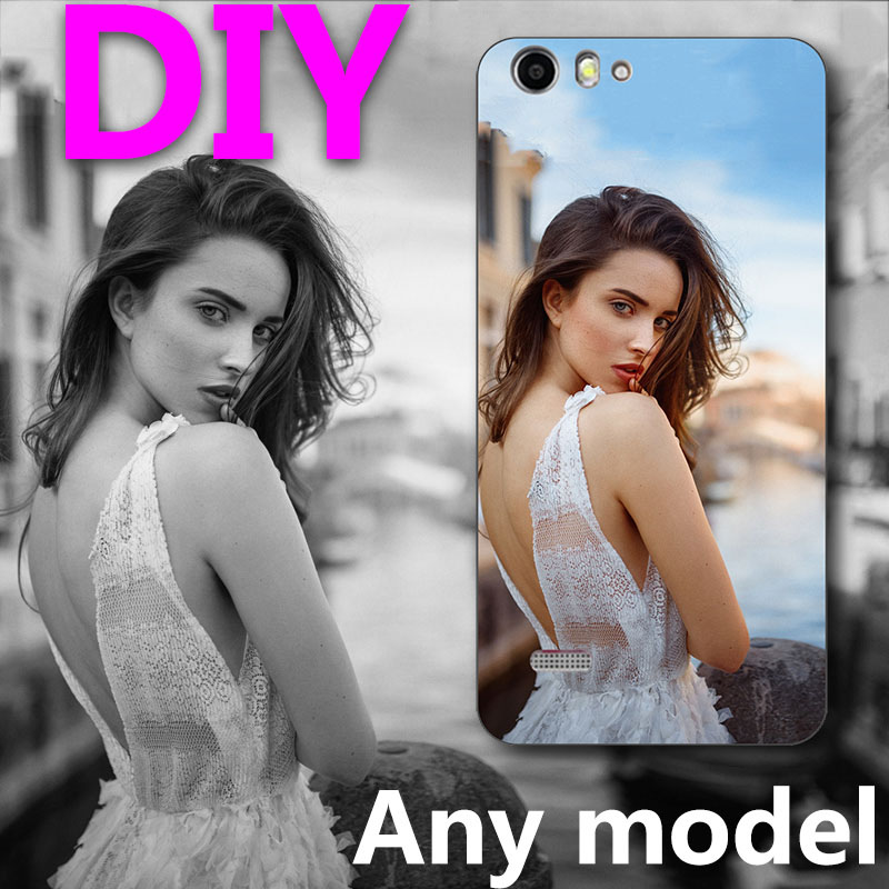 Custom Name TPU Case For ZTE Blade A511 A 511 For ZTE Blade A515 A 515 5.0 Diy Personalize photo Silicone Cover Soft Shell image