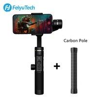 FeiyuTech SPG2 3 оси ручной Gimbal стабилизатор для смартфонов iPhone X 8 7 OPPO samsung ViVO телефонов с полюс и штатив