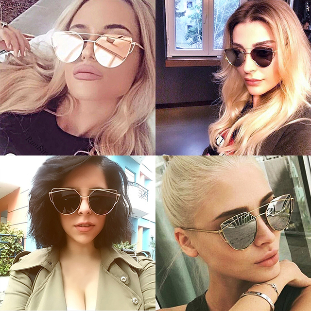 Fashion Brand Sunglasses For Women Glasses Cat Eye Glasses