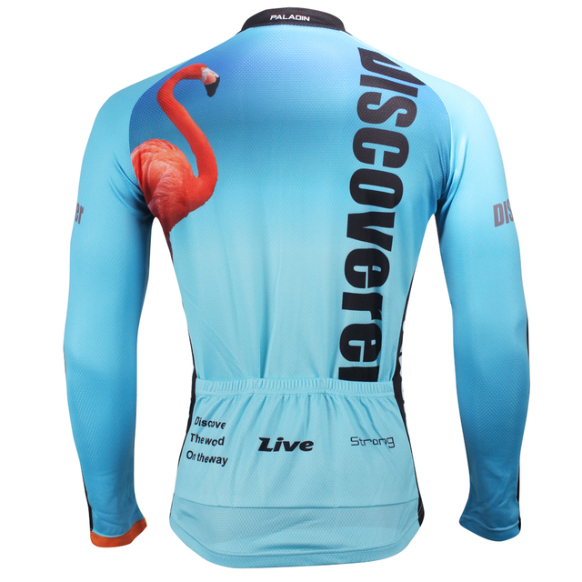 d7db6aab1 Fulang Cycling Jerseys breathe freely wear resiting ultraviolet proof  flamingo HM412