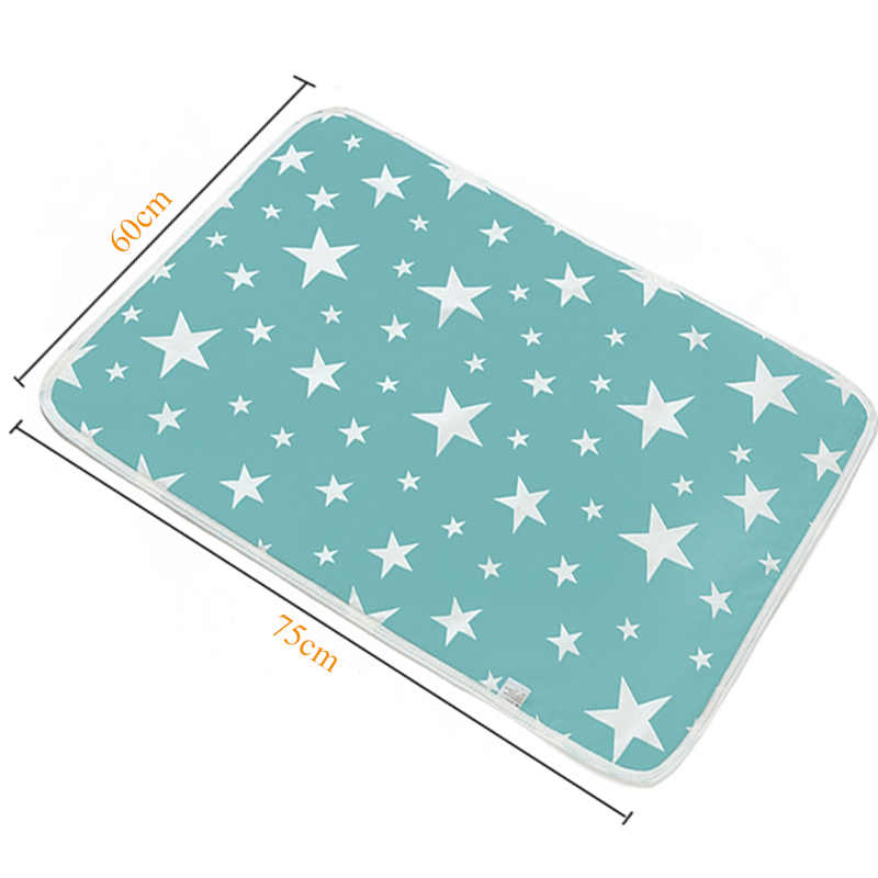 Baby Nappy Changing Pad Cotton Ecologic Diaper Changing Table Cartoon Baby Waterproof Mattress Bed Sheet Infant Change Mat Cover