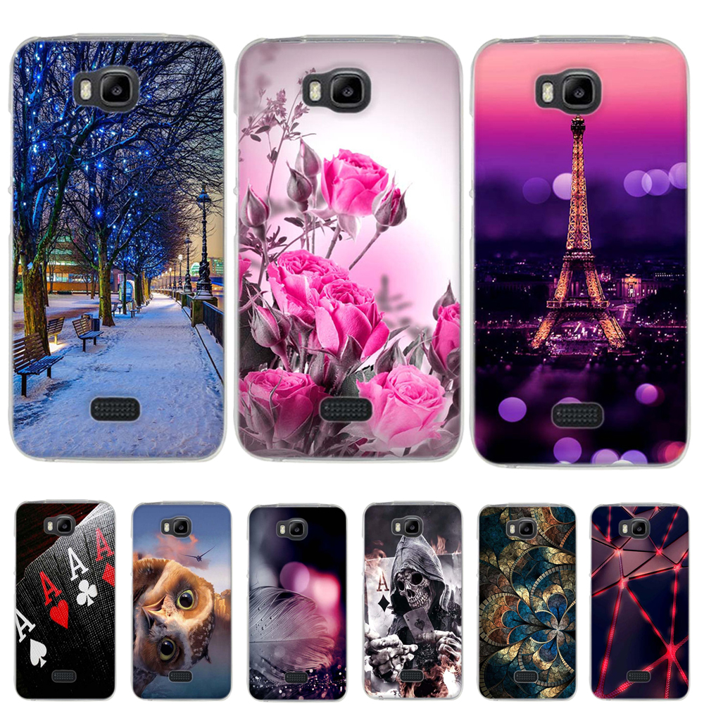 Case for Huawei y541-u02 Case Silicone Soft TPU Cover For Huawei Y5C Case Cover Capa Fundas for Huawei Honor Bee Y560 Phone Case