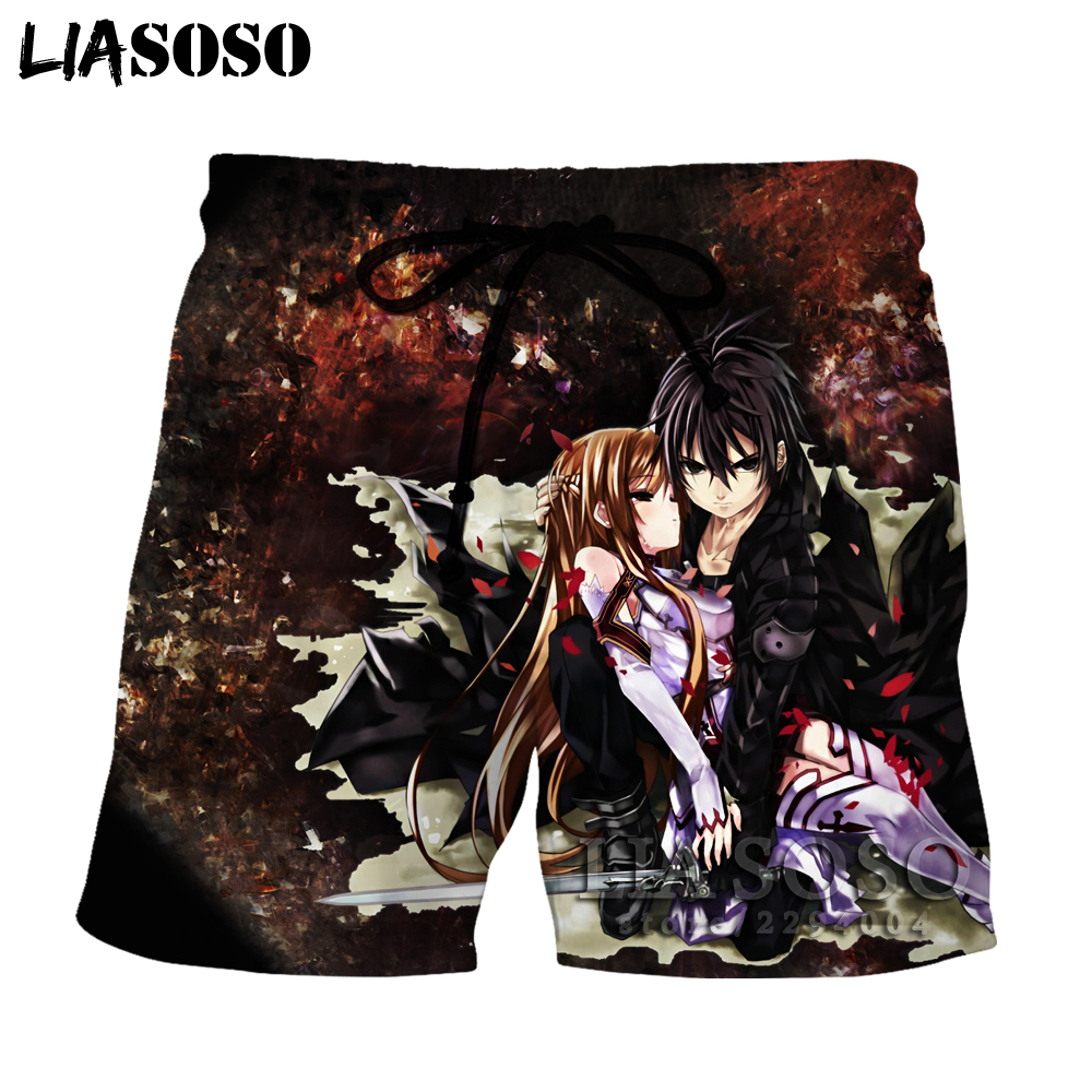 Liasoso sword art online shorts 3d cosplay ultimo disegno for Disegno 3d online