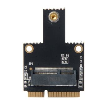 New AC NGFF Wifi Bluetooth Wireless Card M.2 NGFF Key A to Mini PCI-E PCI Express Converter Adapter for Intel 9260 8265 7260 Network Cards