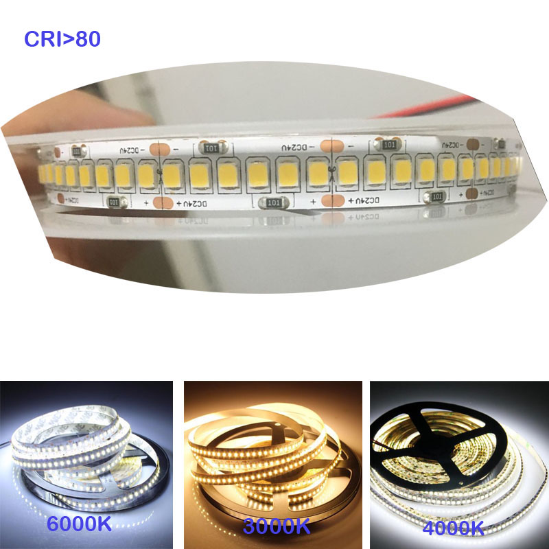 high-brightness-1800lm-m-cri-80-5m-1200-led-2835-led-sttrip24v-12v-flexible-llight-240-led-m-led-strip-white-warm-white